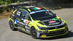 CIR, Rally Roma Capitale 2020: Giandomenico Basso (Volkswagen Polo GTI R5)