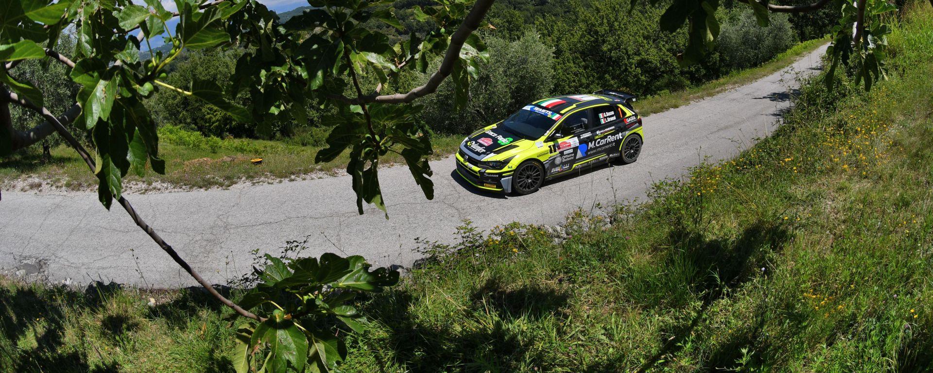 CIR, Rally Roma Capitale 2020: Giandomenico Basso (Volkswagen Polo GTI R5)