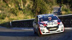 CIR Rally Roma Capitale 2020: la Peugeot 208 R2B di Davide Nicelli