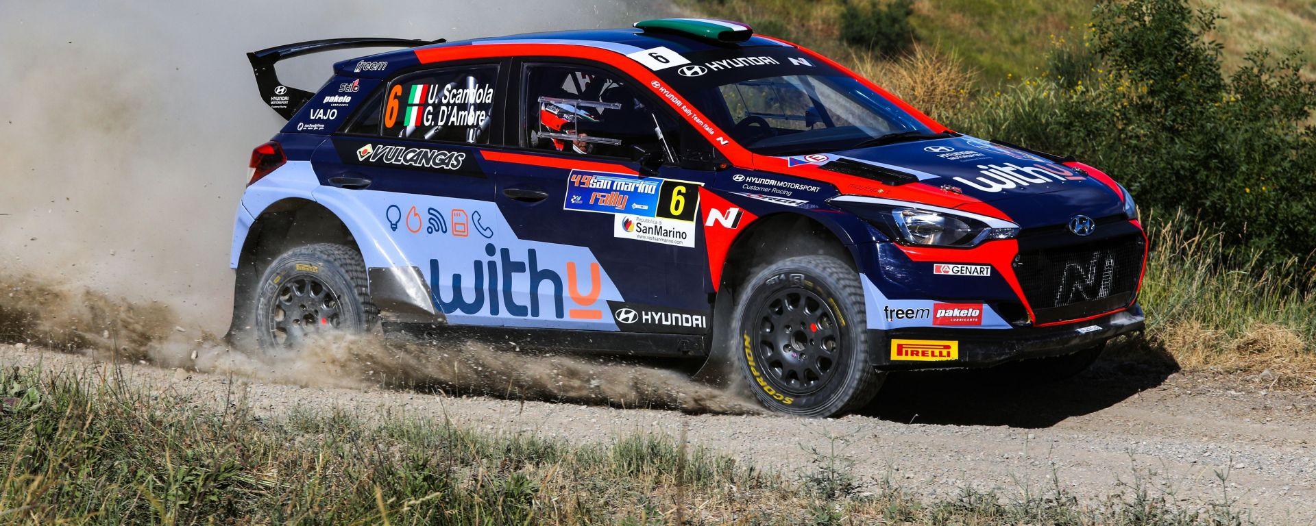 CIR, Rally San Marino 2021: Umberto Scandola (Hyundai)