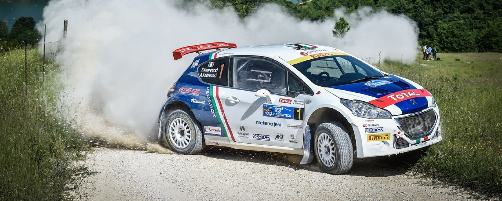 CIR Rally San Marino - Paolo Andreucci e la Peugeot 208 T16 hanno voglia di riscatto