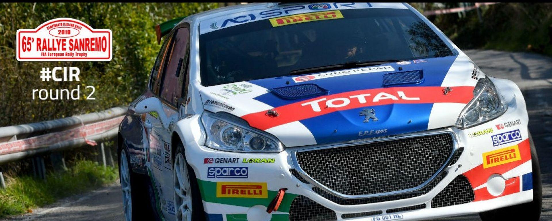 CIR Rally Sanremo 2018, tutte le info: orari e risultati prove speciali