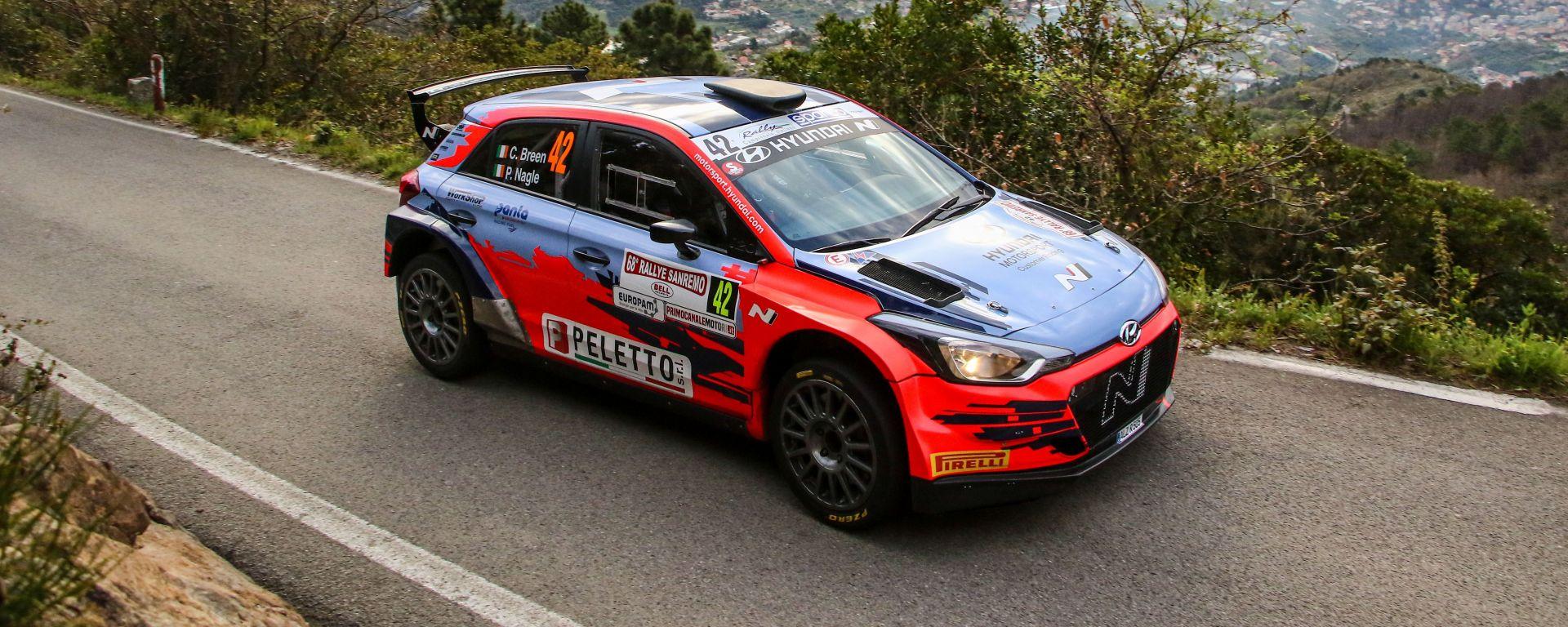 CIR, Rallye Sanremo 2021: Craig Breen (Hyundai)