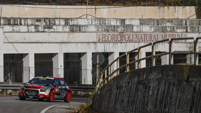 CIR, Targa Florio 2020: Andrea Crugnola (Citroen C3 R5) al passaggio da Floriopoli