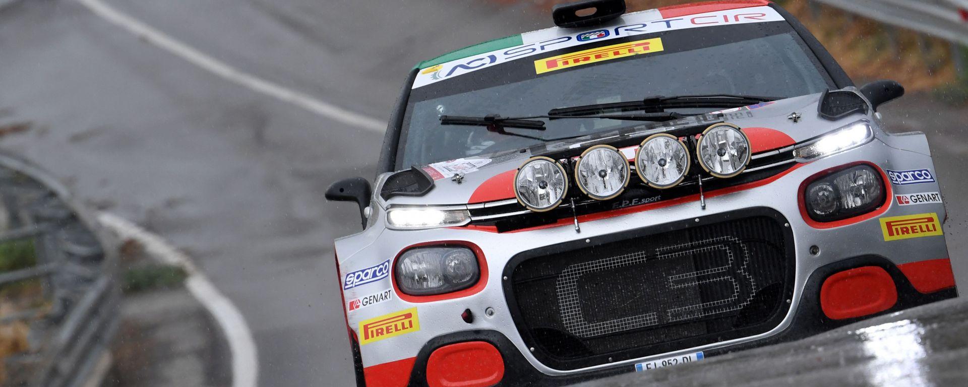 CIR, Targa Florio 2020: Andrea Crugnola (Citroen C3 R5)
