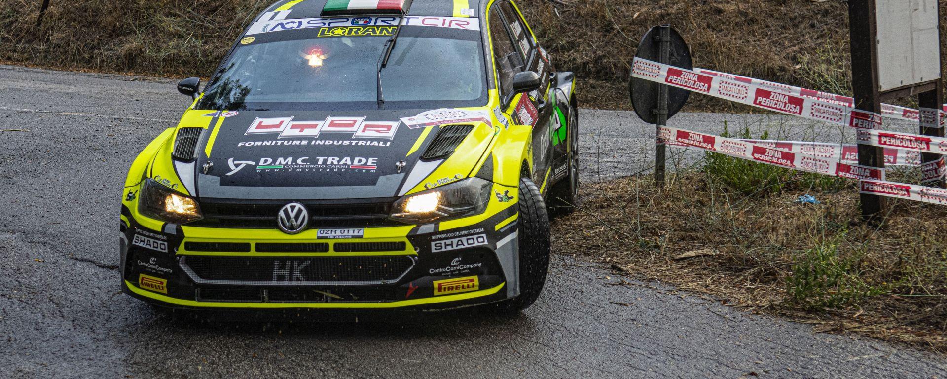 CIR, Targa Florio 2020: Giandomenico Basso (Volkswagen Polo R5) leader dopo il round 4