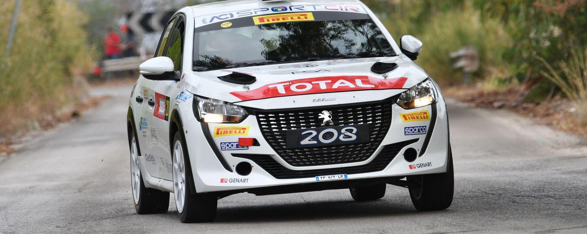 CIR, Targa Florio 2020: Paolo Andreucci (Peugeot 208 Rally4)