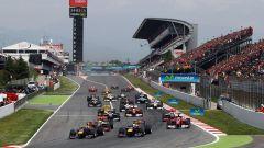 Circuito di Barcellona-Catalunya - monoposto in azione