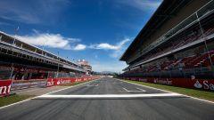 Circuito di Barcellona-Catalunya - rettilineo principale