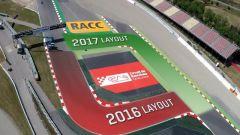 Circuito di Barcellona: il layout 2016 e quello del 2017 a confronto