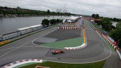 Circuito di Montreal - il Muro dei Campioni (curve 13 e 14)