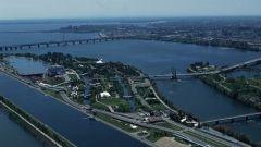 Circuito di Montreal - vista aerea