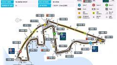 Circuito di Yas Marina - mappa del tracciato