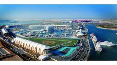 Circuito di Yas Marina - vista aerea