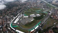 Circuito Interlagos - visuale dall'alto del GP del Brasile