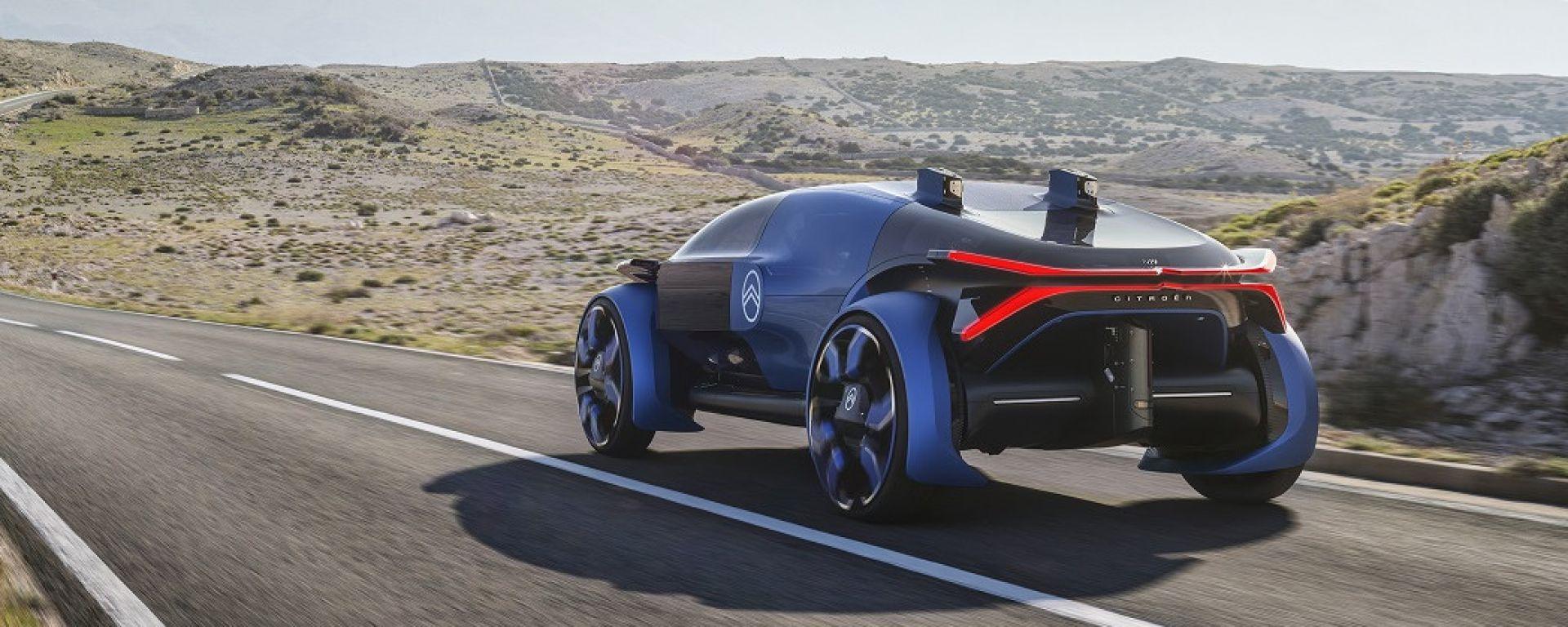 Citroen 19_19 Concept: 800 km di autonomia in elettrico