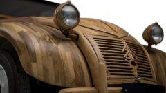 Ecco la Citroën 2CV di legno che si guida davvero - Immagine: 1