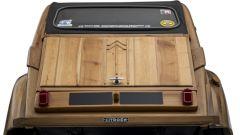Citroën 2CV di legno by Michel Robillard: il portellone posteriore