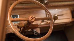 Citroën 2CV di legno by Michel Robillard: il volante