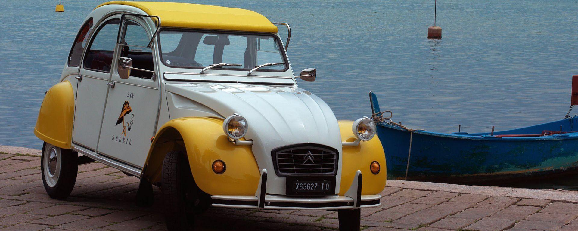Citroën: al via il megaraduno 2CV