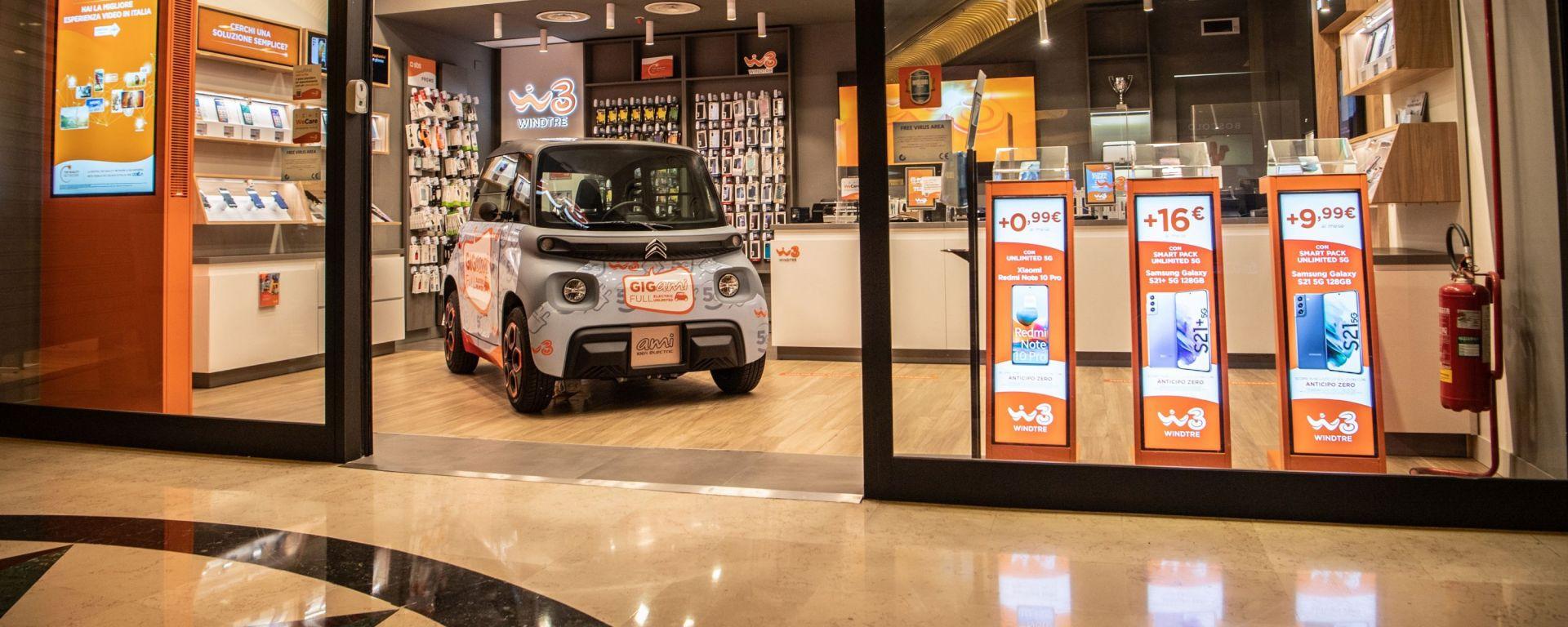 Citroen Ami e Windtre: l'offerta GIGami per i clienti del quadriciclo leggero elettrico