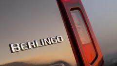 Citroen Berlingo 2018: il lettering del nuovo modello