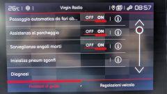 Citroen Berlingo Van: il menu dei dispositivi di aiuto alla guida