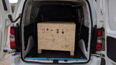 Citroen Berlingo Van: il pallet nel vano di carico