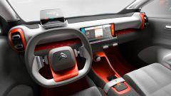 Citroen C-Aircross Concept: l'abitacolo riprende lo stile di C3 e C4 Cactus