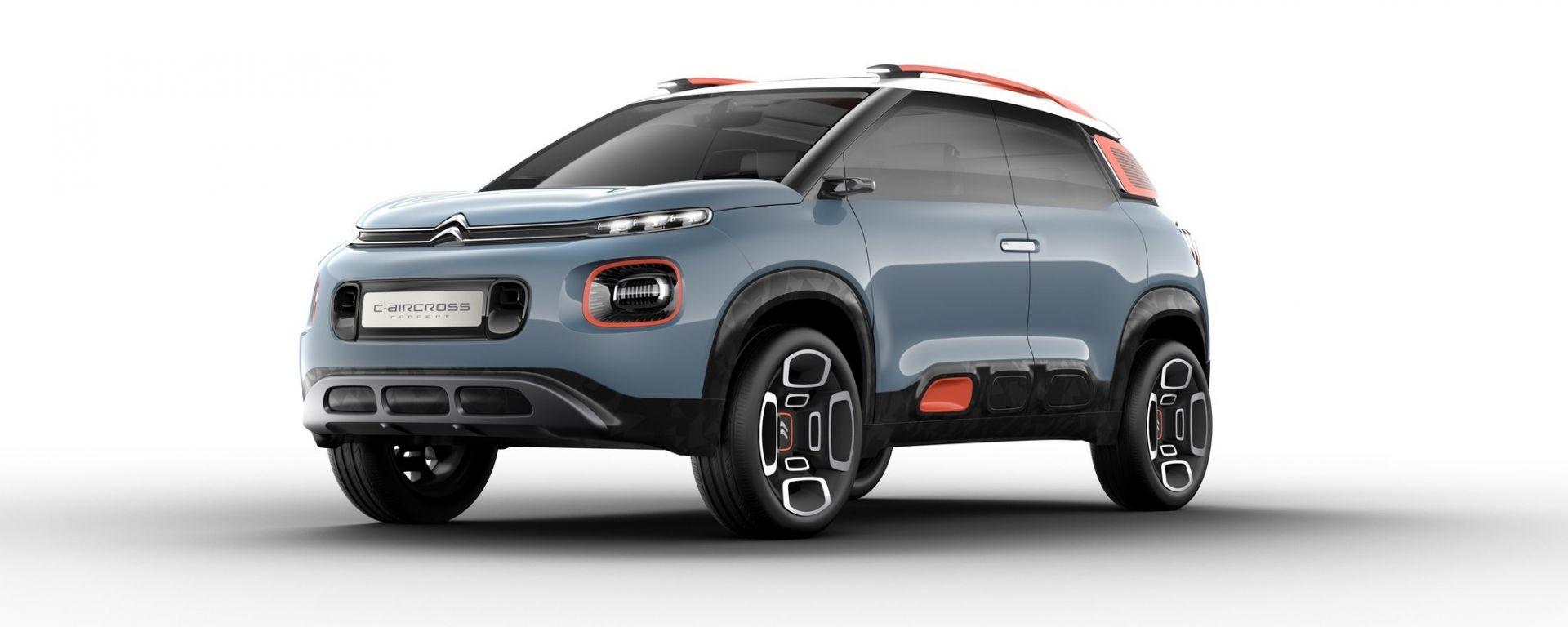 Citroen C-Aircross Concept: si chiama così il suv che debutterà al Salone di Ginevra 2017