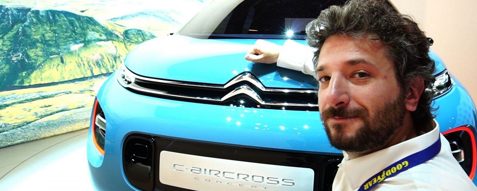 Citroen C-Aircross, salone di Ginevra 2017, anteprima dallo stand