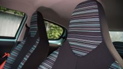 Citroen C1 Pacific Edition tessuti interni Zebra Blu Lagoon
