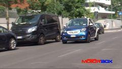 Citroën C1 vs Fiat Panda vs Smart forfour: facilità di parcheggio - Immagine: 8