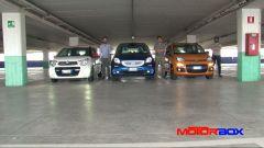 Citroën C1 vs Fiat Panda vs Smart forfour: le prestazioni - Immagine: 2