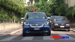Citroën C1 vs Fiat Panda vs Smart forfour: le prestazioni - Immagine: 13