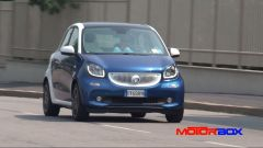Citroën C1 vs Fiat Panda vs Smart forfour: le prestazioni - Immagine: 12