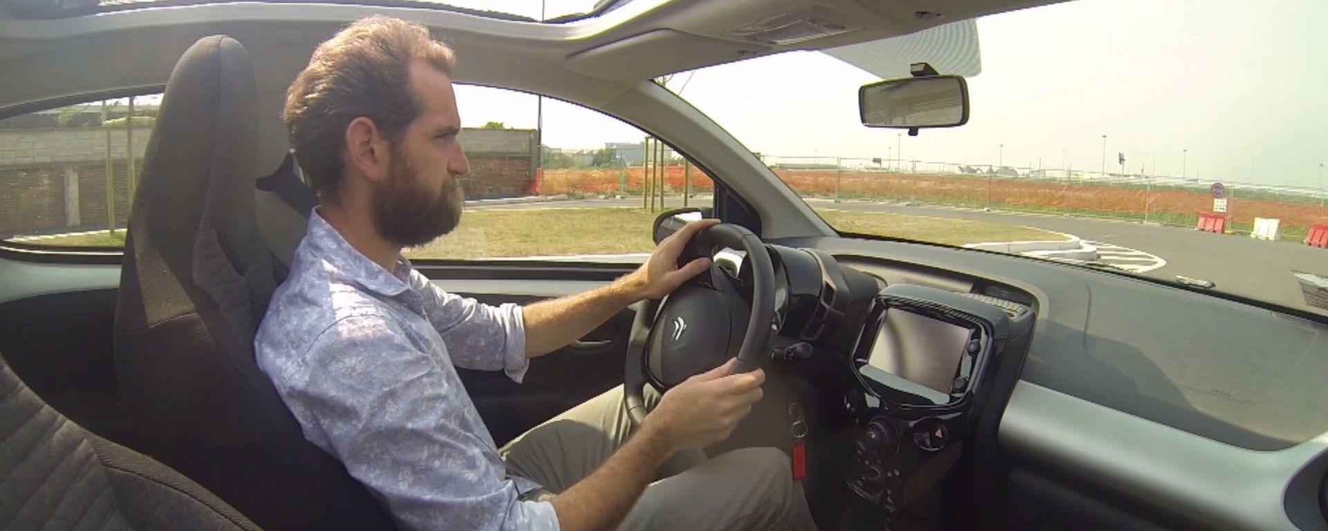 Citroën C1 vs Fiat Panda vs Smart forfour: le prestazioni