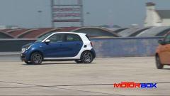 Citroën C1 vs Fiat Panda vs Smart forfour: le prestazioni - Immagine: 9