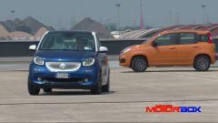 Citroën C1 vs Fiat Panda vs Smart forfour: le prestazioni - Immagine: 14
