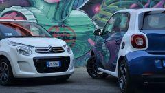 Citroën C1 vs Fiat Panda vs Smart forfour - Immagine: 3
