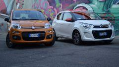 Citroën C1 vs Fiat Panda vs Smart forfour - Immagine: 2