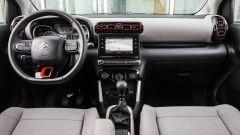 Citroen C3 Aircross 1.6 BlueHDi 120 cv EAT6 Shine: gli interni
