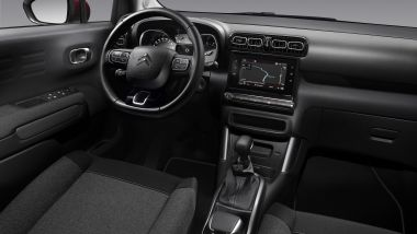Citroen C3 Aircross C-Series: gli interni