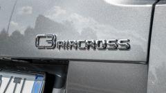 Citroen C3 Aircross: dettaglio badge posteriore