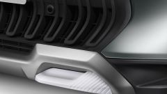 Citroen C3 Aircross, dettaglio del fascione anteriore