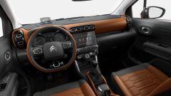 Citroen C3 Aircross: gli interni riprendono quelli della C3 con schemo da 7 pollici e head up display