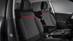 Citroen C3 Aircross: i sedili con finiture rosse della C-Series