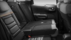 Citroen C3 Aircross, i sedili posteriori reclinabili