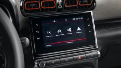 Citroen C3 Aircross: il display del sistema multimediale a centro plancia