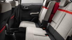 Citroen C3 Aircross: il divanetto posteriore scorrevole